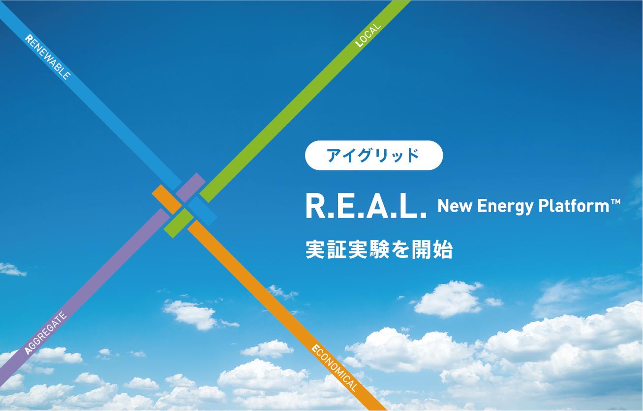 太陽光発電余剰の地域循環ビジネスモデルを実現する「R.E.A.L.  New Energy Platform™」の実証実験を開始アイ・グリッド・ソリューションズ